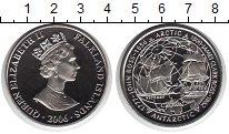 Изображение Мелочь Великобритания Фолклендские острова 1 крона 2006 Медно-никель UNC-