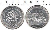 Изображение Монеты Мексика 100 песо 1985 Серебро UNC- Чемпионат мира по фу