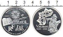 Изображение Монеты Франция 1 1/2 евро 2007 Серебро Proof-