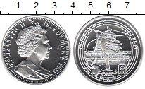 Изображение Монеты Остров Мэн 1 крона 2008 Серебро Proof Олимпийские игры 200