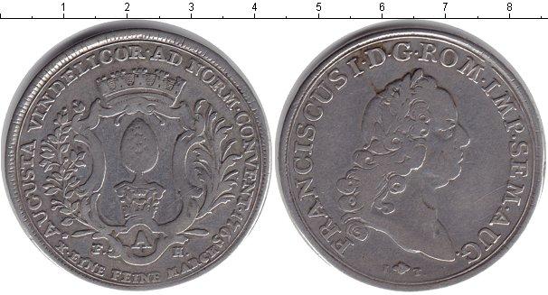 Картинка Монеты Аугсбург 1 талер Серебро 1795