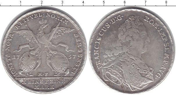 Картинка Монеты Нюрнберг 1 талер Серебро 1757