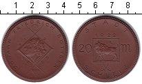 Изображение Монеты Нотгельды 20 марок 1922 Керамика UNC Шляйц.