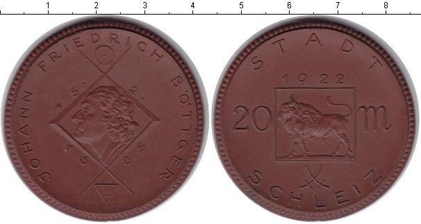 Картинка Монеты Нотгельды 20 марок Керамика 1922