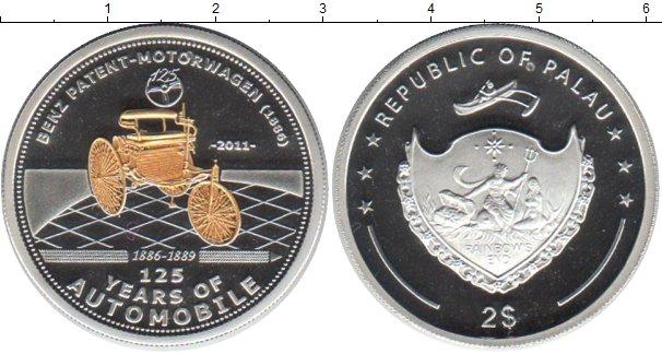 Картинка Монеты Палау 2 доллара Серебро 2011