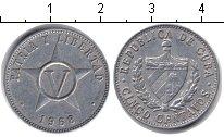 Изображение Барахолка Куба 5 сентаво 1968 Алюминий XF Герб