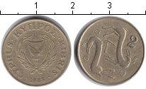 Изображение Дешевые монеты Кипр 2 цента 1983  VF Олени