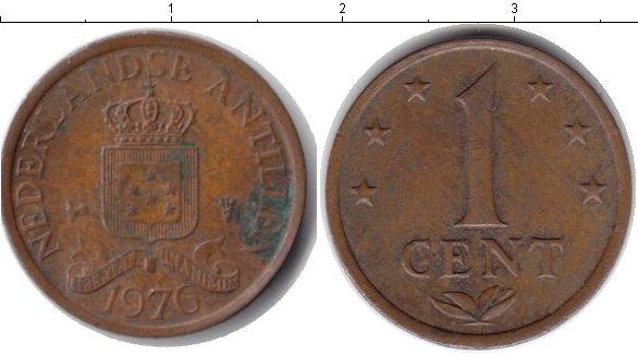 Картинка Дешевые монеты Антильские острова 1 цент  1976
