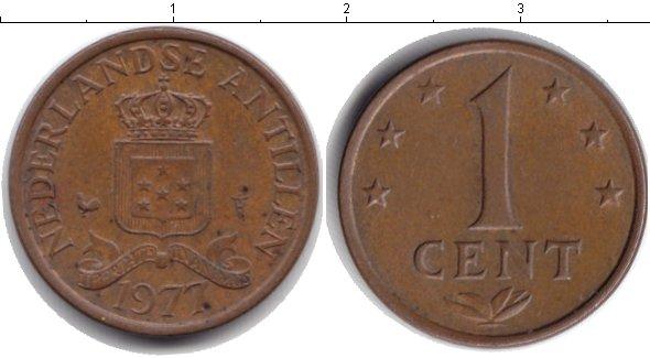 Картинка Барахолка Антильские острова 1 цент Медь 1977