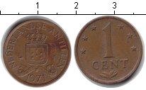 Изображение Барахолка Антильские острова 1 цент 1971  VF