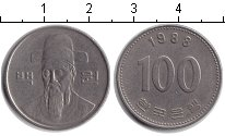 Изображение Дешевые монеты Южная Корея 100 вон 1988 Медно-никель VF