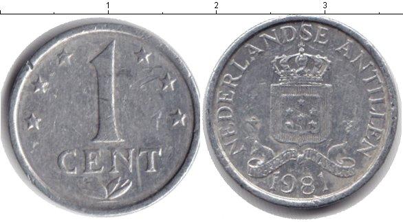 Картинка Барахолка Антильские острова 1 цент Алюминий 1981