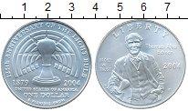 Изображение Монеты США 1 доллар 2004 Серебро UNC- Томас Эдисон