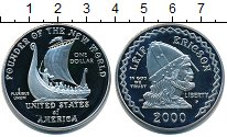 Изображение Мелочь США 1 доллар 2000 Серебро Proof