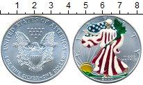 Изображение Монеты США 1 доллар 2000 Серебро UNC