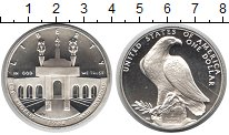 Изображение Монеты США 1 доллар 1984 Серебро Proof- Лос Анжелес