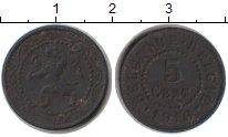 Изображение Монеты Бельгия 5 сантим 1916 Цинк