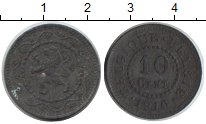 Изображение Монеты Бельгия 10 сантимов 1916 Цинк