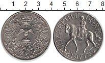 Изображение Монеты Великобритания 1 крона 1977 Медно-никель UNC-