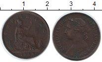 Изображение Монеты Великобритания 1 фартинг 1886 Медь XF