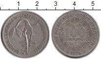 Изображение Монеты Западно-Африканский Союз 100 франков 1976 Медно-никель VF Золотая гиря Ашанти