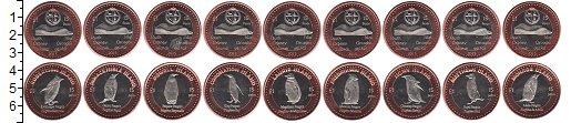 Изображение Наборы монет Оркнейские острова Оркнейские острова 2015 2015 Биметалл UNC В наборе 9 монетовид