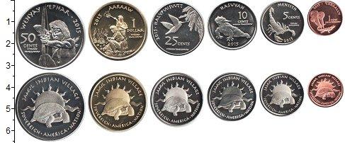 Изображение Наборы монет Резервация Хамул Индейцы Резервация Хамул Индейцы 2015 2015  UNC В наборе 6 монетовид