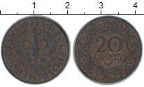 Изображение Монеты Польша 20 злотых 1923 Медно-никель VF