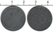Изображение Монеты Третий Рейх 10 пфеннигов 1941 Цинк VF