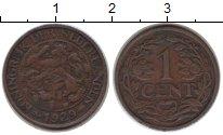 Изображение Монеты Нидерланды 1 цент 1929 Медь VF