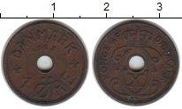 Изображение Монеты Дания 1 эре 1928 Медь XF