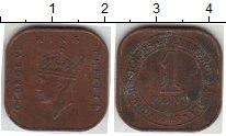 Изображение Монеты Малайя 1 цент 1943 Медь VF
