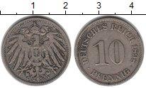 Изображение Монеты Германия 10 пфеннигов 1898 Медно-никель XF