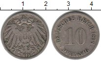 Изображение Монеты Германия 10 пфеннигов 1896 Медно-никель XF