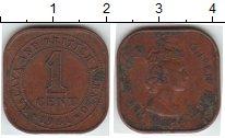Изображение Монеты Малайя 1 цент 1961 Медь XF