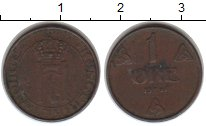 Изображение Монеты Норвегия 1 эре 1941 Медь VF