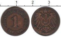 Изображение Монеты Германия 1 пфенниг 1894 Медь VF