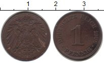 Изображение Монеты Германия 1 пфенниг 1906 Медь XF