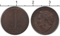 Изображение Монеты Нидерланды 1 цент 1948 Медь VF