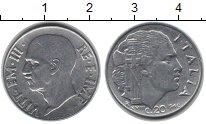 Изображение Монеты Италия 20 сентесим 1940 Медно-никель XF