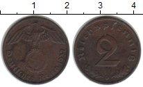 Изображение Монеты Третий Рейх 2 пфеннига 1937 Медь XF