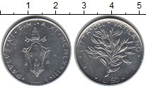 Изображение Монеты Ватикан 50 лир 1970  XF