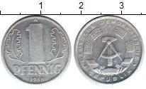 Изображение Монеты ГДР 1 пфенниг 1968  XF