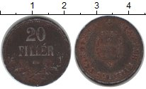 Изображение Монеты Венгрия 20 филлеров 0 Цинк