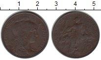 Изображение Монеты Франция 5 сантимов 1916 Медь  Республика защищает