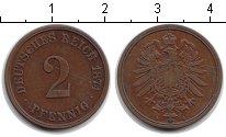 Изображение Монеты Германия 2 пфеннига 1874 Медь VF