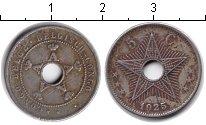 Изображение Монеты Бельгийское Конго 5 сантимов 1925 Медно-никель