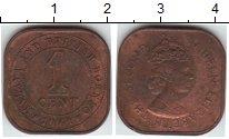 Изображение Монеты Малайя 1 цент 1961  XF