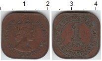 Изображение Монеты Малайя 1 цент 1957  XF