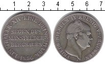 Изображение Монеты Пруссия 1 талер 1856 Серебро XF